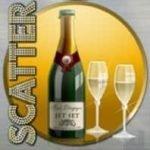 Scatter symbol from online slot Mega Fortune