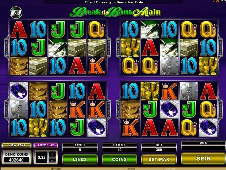 Mega Spin: Break da Bank Again online free slot