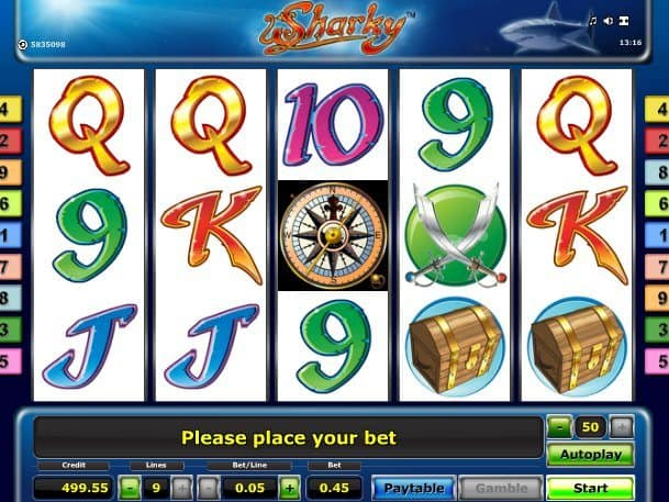Online free casino game slot Sharky