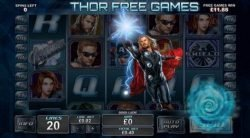 Free games from online casino slot The Avengers