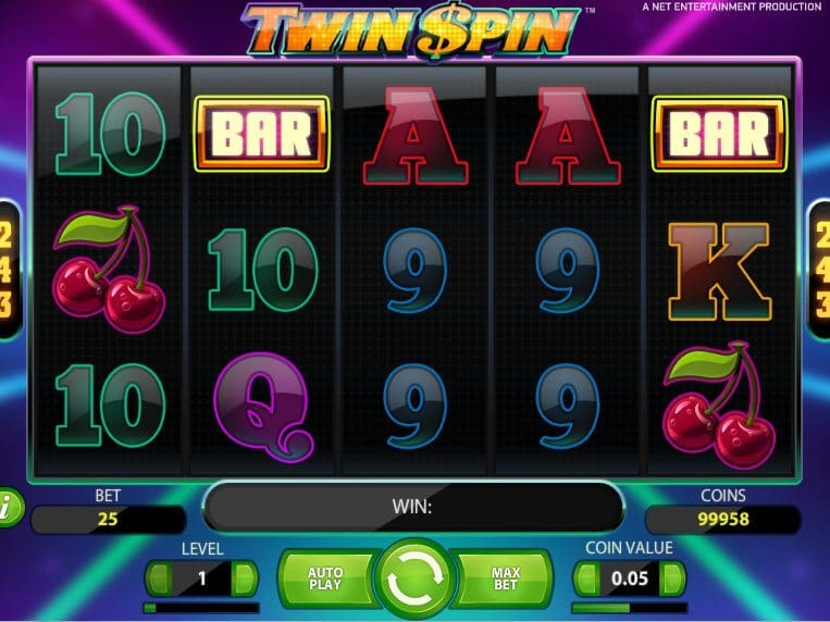 Twin Spin online free slot game no download no registration