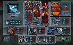Tabla de pagos de la tragaperras gratis Wolverine