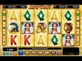 Free slot machine online Age of Troy