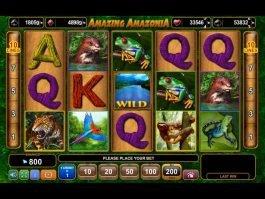 Play slot machine Amazing Amazonia for free
