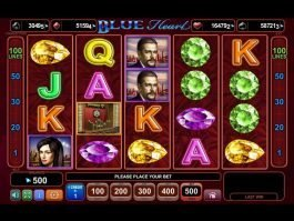 Casino free online Blue Heart slot