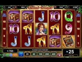 Play slot Book of Magic online