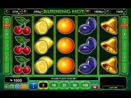 Slot Burning Hot online for free