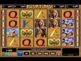 Online free slot game Egypt Sky