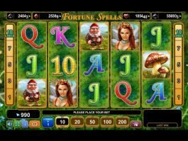 Casino free slot game Fortune Spells