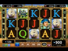 Free online slot Imperial Wars for fun
