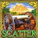 Scatter symbol of Free Imperial Wars Slot game