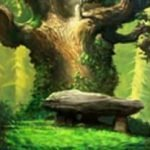 Bonus symbol from Majestic Forest online slot for fun