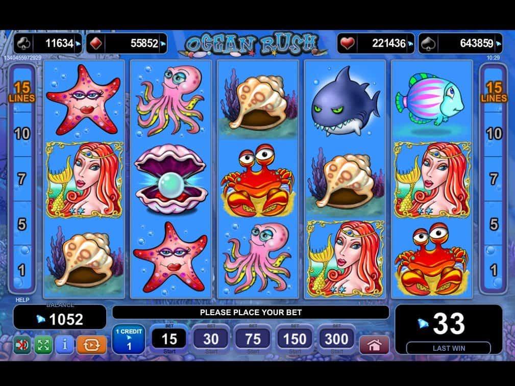 Ocean Rush Slot Free