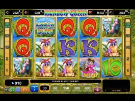 Play free casino slot machine Rainbow Queen