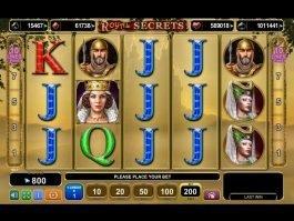 Online slot game Royal Secrets