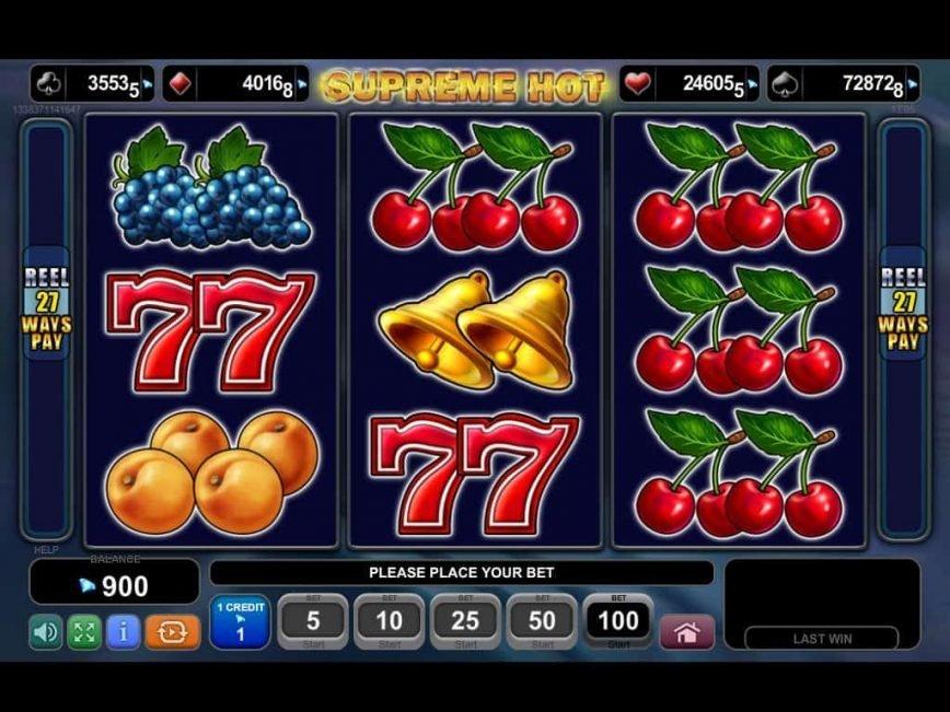 Spiele Supreme Hot - Video Slots Online