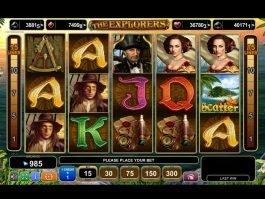Play free casino game The Explorers
