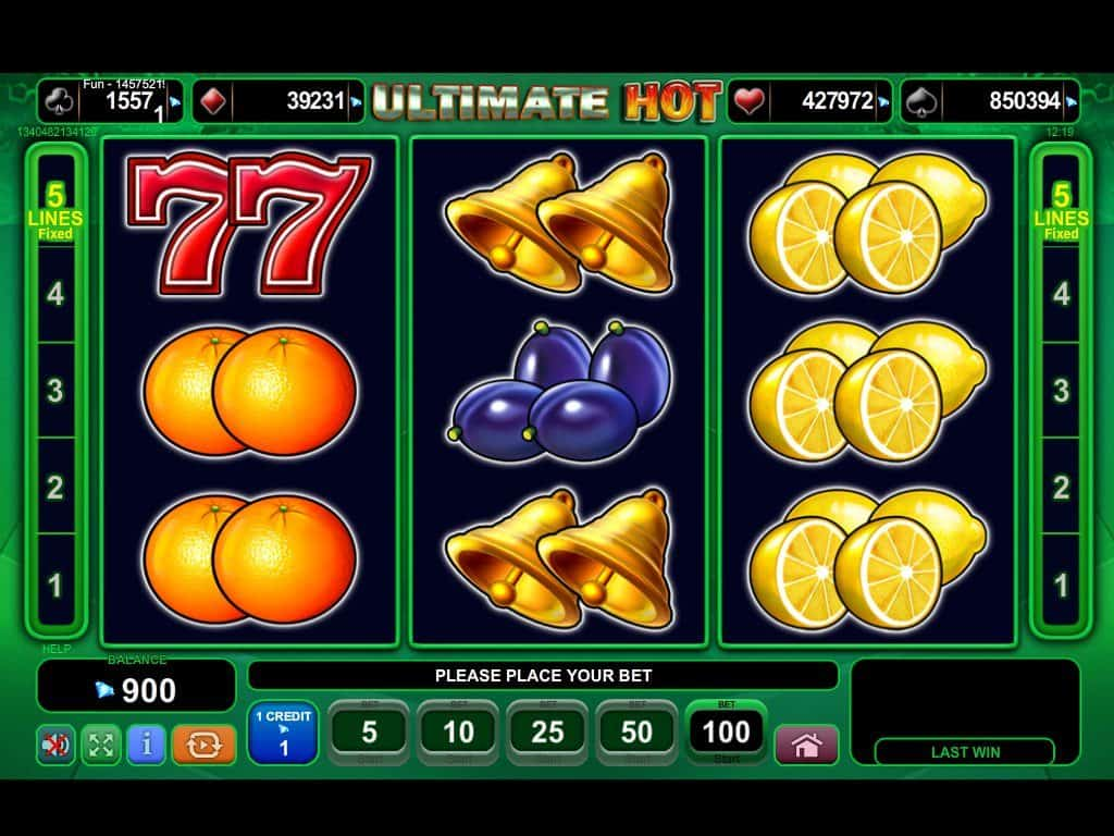5 dazzling hot casino slot machine