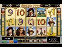 Casino free slot game Venezia D´oro