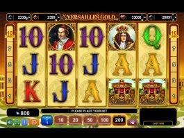 Online free slot game Versailles Gold no deposit
