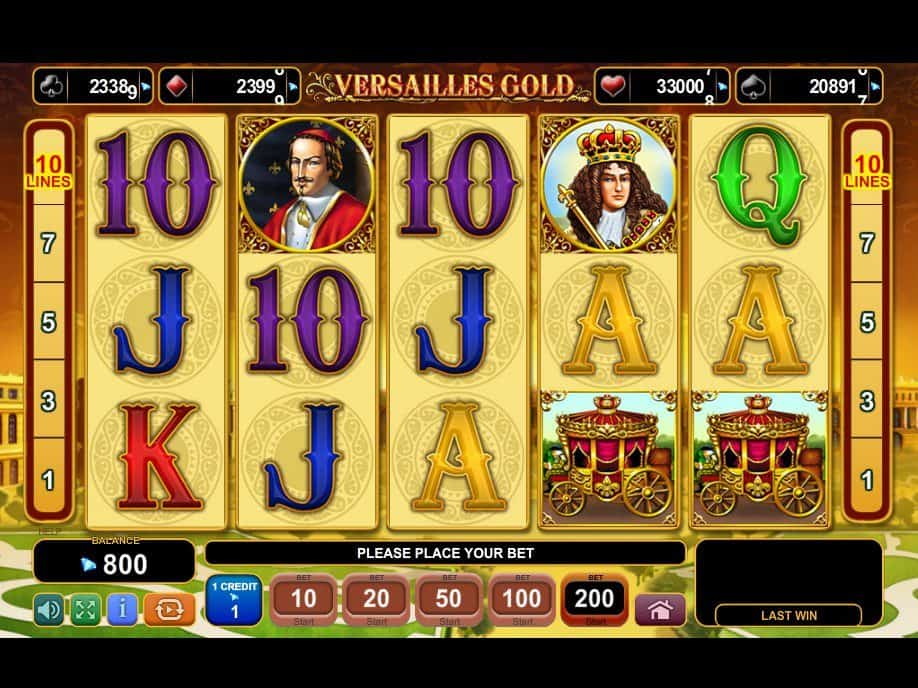 Spiele Versailles Gold - Video Slots Online