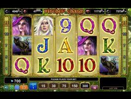 Online slot machine Witches´Charm