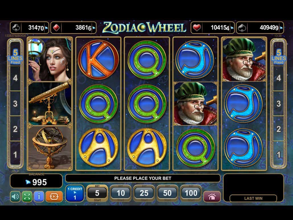 Slot Machine Zodiac