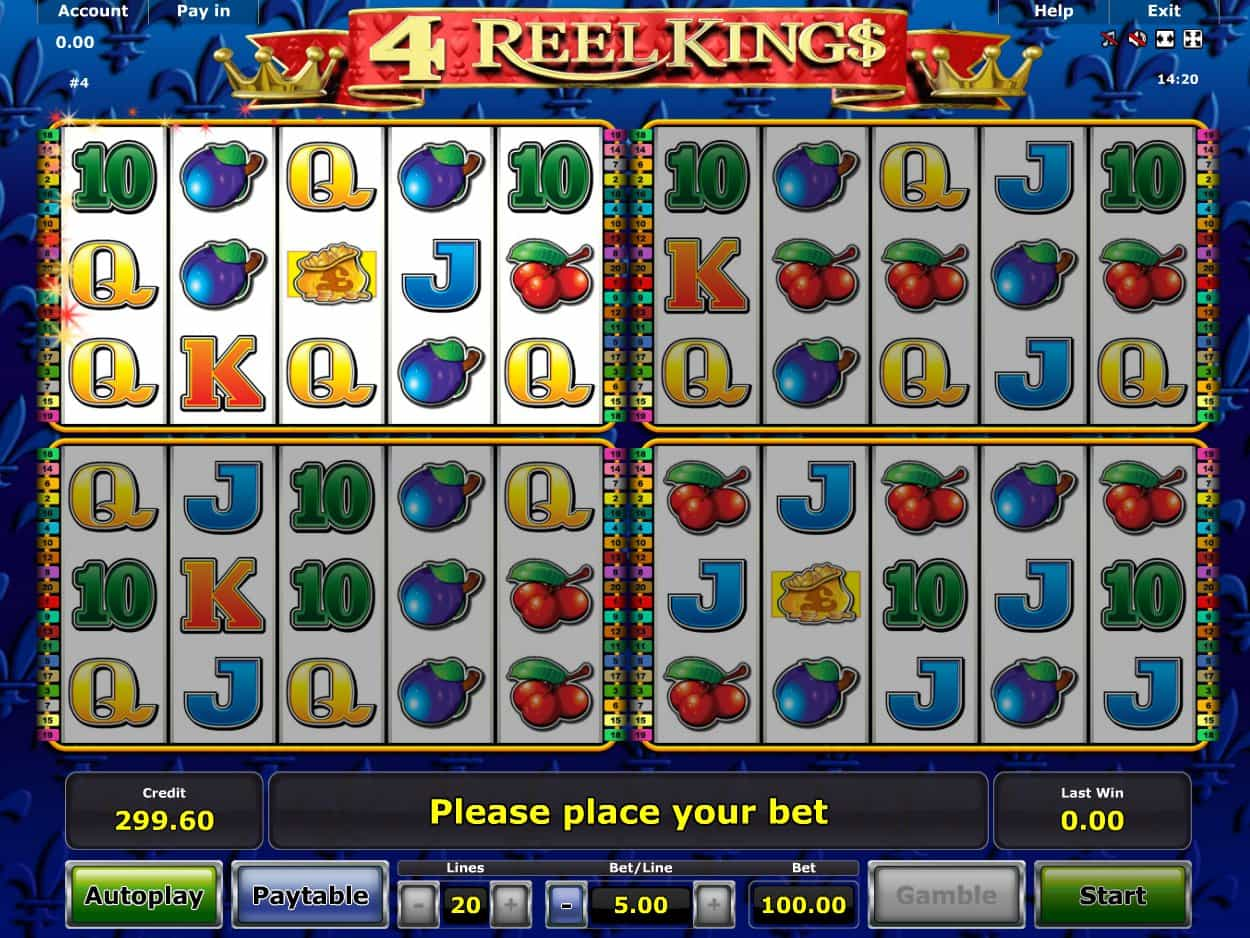 Spiele 4 Of King - Video Slots Online