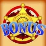 Bonus symbol from online slot machine Armadillo Artie