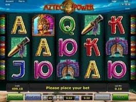 Free slot machine Aztec Power online
