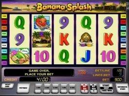 Free casino slot Banana Splash online