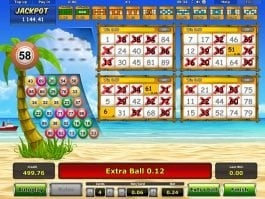 Online casino slot machine Beach Party for free