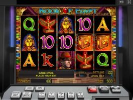 Free slot machine Book of Egypt online