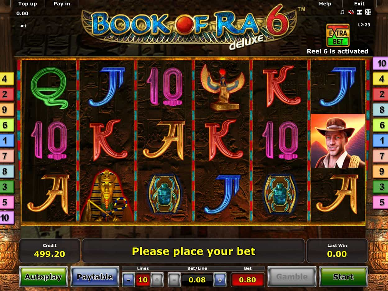 Book Of Ra 6 Slot Machine Play Free Online Game Slotu Com
