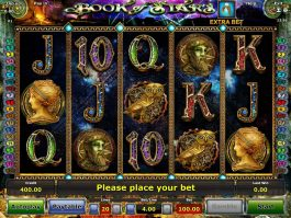 Online slot machine Book of Stars for free