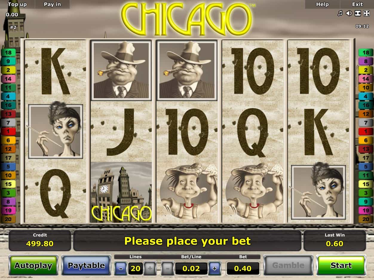 Chicago Slot - Novomatic Slots - 200% Welcome Bonus - Rizk Casino