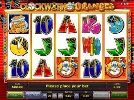 Free slot machine Clock Work Oranges online