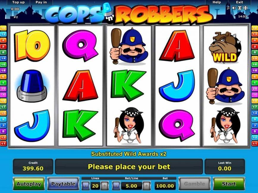Free slot online Cops'n Robbers
