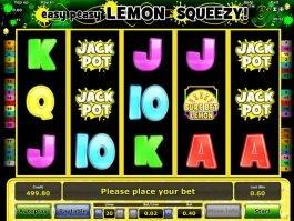 Easy Peasy Lemon Squeezy online casino slot machine for fun