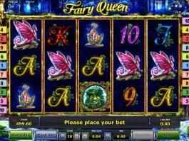 Online slot game Fairy Queen for free