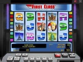 Free online slot First Class Traveller no deposit