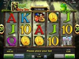 Free online slot machine Frogs Fairy Tale
