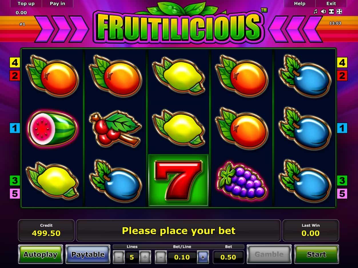 Spiele Fruitilicious - Video Slots Online