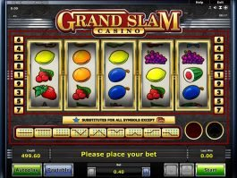 Online slot game Grandslam for free