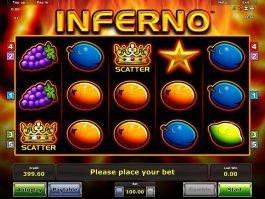 Free slot machine Inferno online