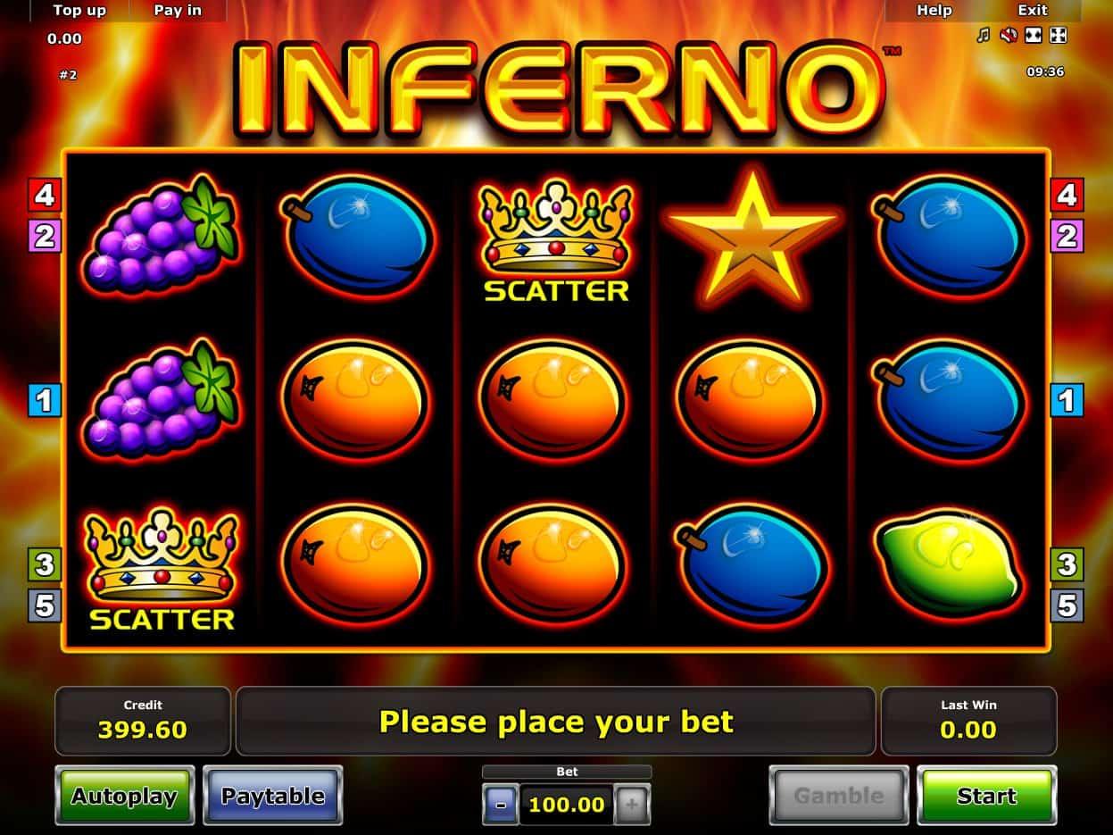 Jackpot inferno slot machine online