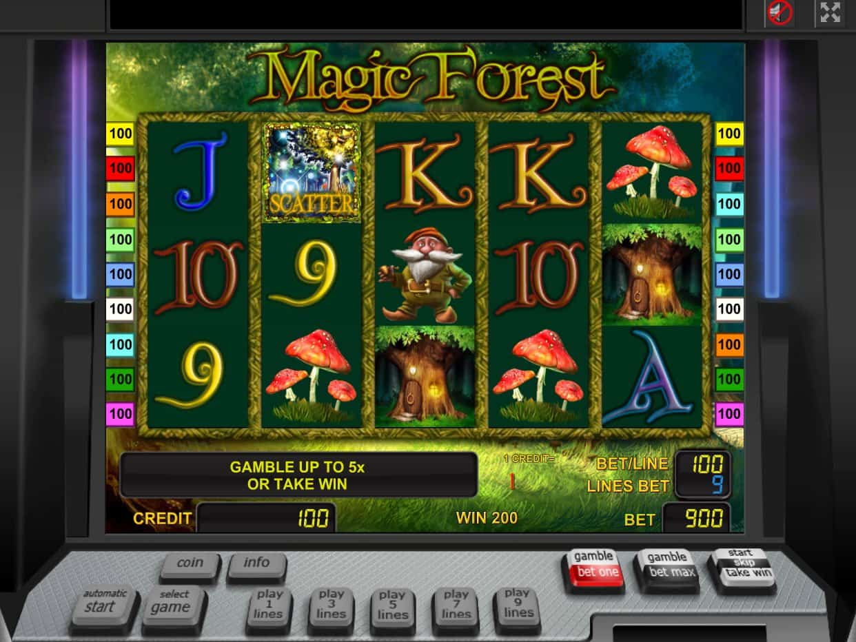 Magical Forest Game
