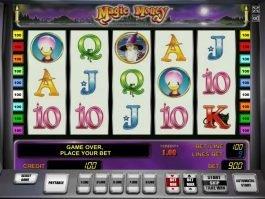 Online casino slot Magic Money for free