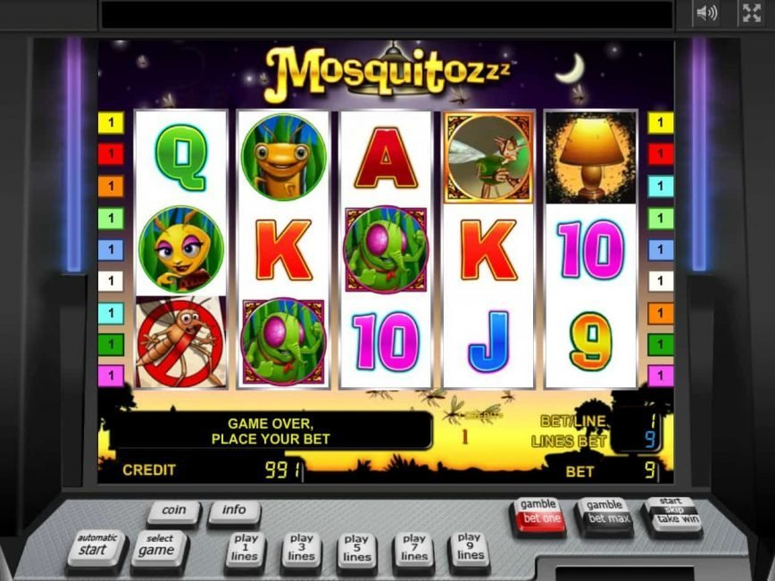 Picture of Mosquitozzz online free casino slot