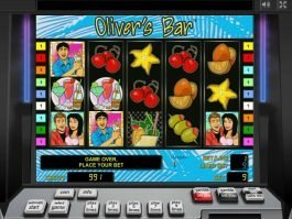 Free casino slot machine Oliver's Bar for fun